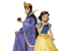 Snow White and the Seven Dwarfs Disney Traditions Snow White and Evil Queen Figurine (Jim Shore)