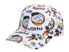 Naruto All Over Print Snapback Hat