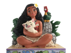 Moana Disney Traditions Moana with Pua and Hei Hei Figurine (Jim Shore)