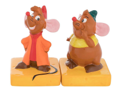 Cinderella Jaq and Gus Salt & Pepper Shakers