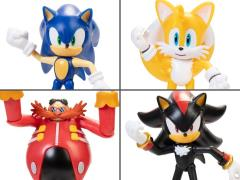 "Sonic The Hedgehog 4"" Figures Wave 1 Set of 4 Figures"
