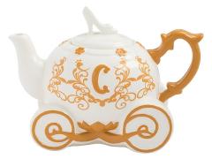 Cinderella Carriage Ceramic Teapot