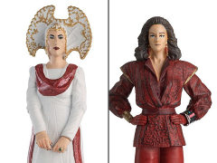 Doctor Who Figurine Collection Time Lords Series Set #4 The inquisitor and the Rani