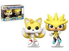 Pop! Games: Sonic Super Tails and Super Silver Exclusive Two-Pack