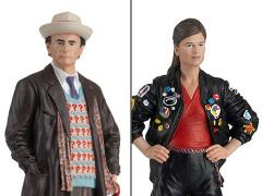 Doctor Who Figurine Collection Companion Set #11 Seventh Doctor & Ace