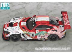 1:43 Scale Good Smile Hatsune Miku AMG 2017 SPA24H Finals Version Miniature Car GR84264 Multicolor Good Smile Racing Hatsune Miku GT Project