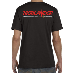kurgan sword there can be only one Highlander skull Unisex tshirt