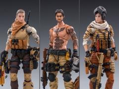 JoyToy 1//18 3.75 Inch 45st Legion Wasteland Hunter 3 Action Figures In Stock!!!