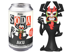 Samurai Jack Vinyl Soda Aku Limited Edition Figure
