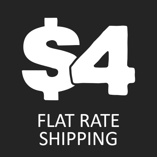 $4 Flat Rate Shipping