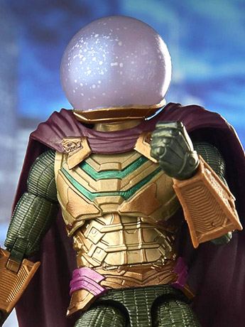 Spider-Man: Far From Home Marvel Legends Marvel's Mysterio (Molten Man BAF)
