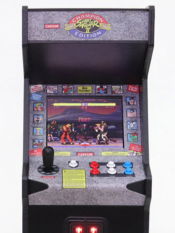 Street Fighter II RepliCade 1/6 Arcade Cabinet