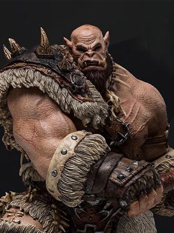 Warcraft Orgrim 1/9 Scale Statue