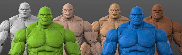 Titan Body 1/12 Scale Action Figure Blanks