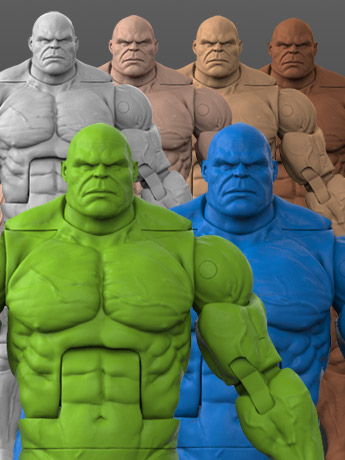 Titan Body 1/12 Scale Action Figure Blanks