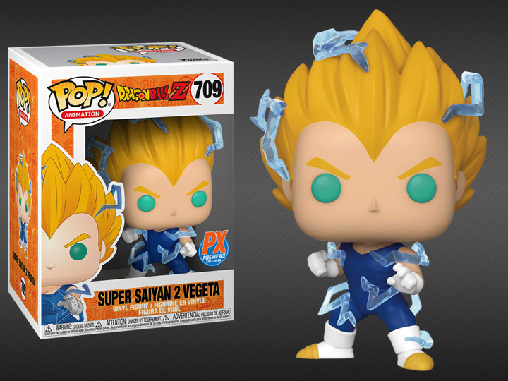 Funko Pop! Dragon Ball Z - Super Saiyan 2 Vegeta PX Previews Exclusive
