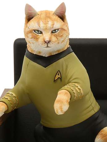 Star Trek: The Original Series Cat Statues