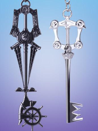 Kingdom Hearts III Keyblade Keychains