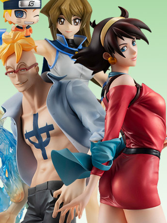 MegaHouse: Gundam, One Piece, Naruto & More!