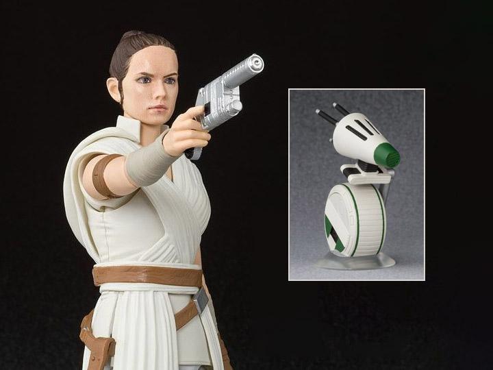 Star Wars S.H.Figuarts Rey & D-O
