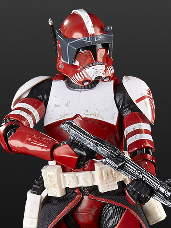 "Star Wars: The Black Series 6"" Clone Commander Fox (The Clone Wars) BBTS Shared Exclusive"