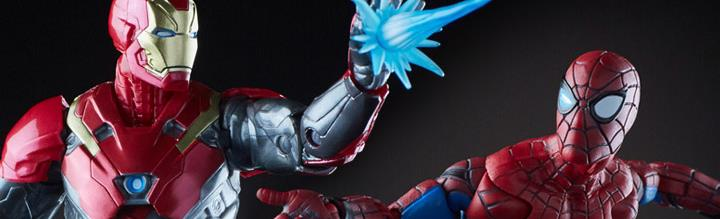 Marvel Legends Spider-Man & Iron Man Sentry