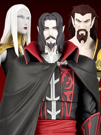 Castlevania Select Wave 2 Set of 3 Figures
