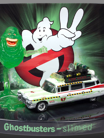 Ghostbusters II 1/64 Scale Slimed Ecto-1A