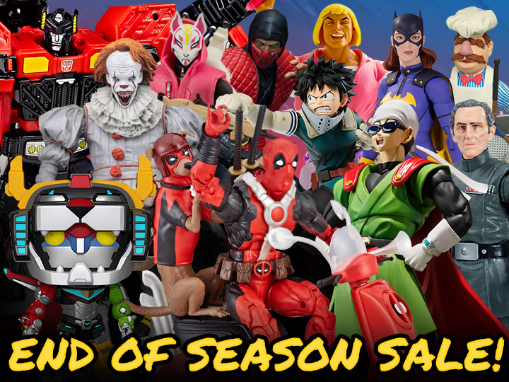 End of Season Sale! Prices Reduced on 2400+ Items!