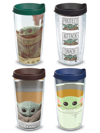The Mandalorian The Child Tervis Tumblers