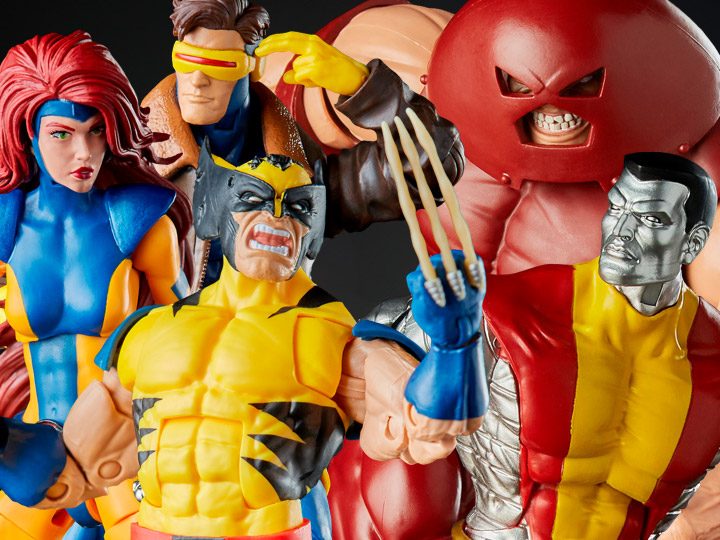 Marvel 80th Marvel Legends X-Men Three-Pack, Colossus & Juggernaut