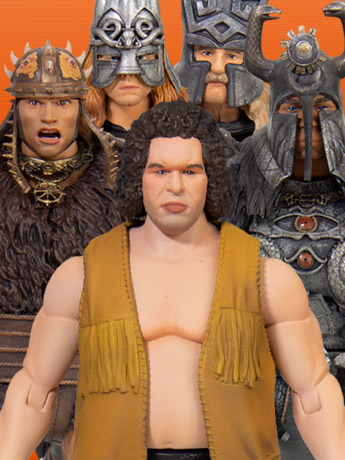 Super7 Ultimates: Andre the Giant, Conan the Barbarian