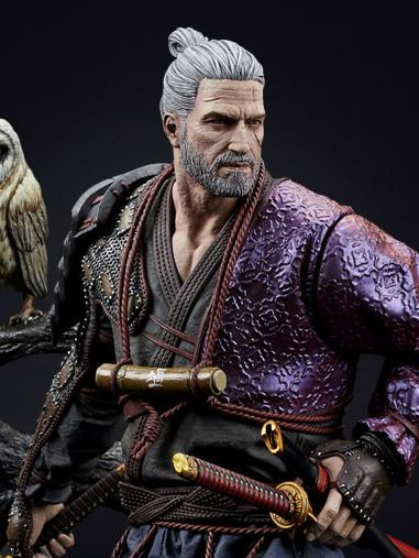 The Witcher 3: Wild Hunt Geralt Ronin Statue