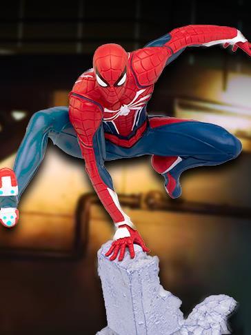 Spider-Man (2018 Video Game) Gamerverse 1/12 Scale Diorama Statues
