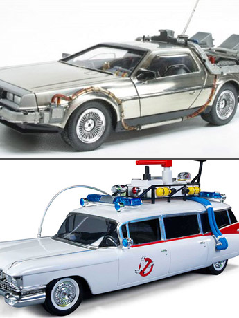 Ghostbusters & BTTF Model Kits