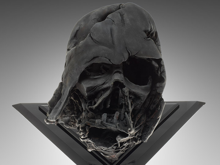 Darth Vader 1:1 Scale Pyre Helmet LE Replica