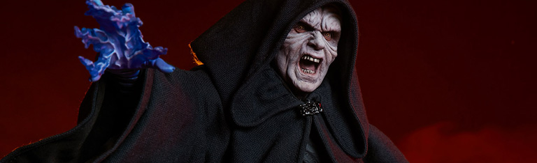 Star Wars Mythos Darth Sidious Statue