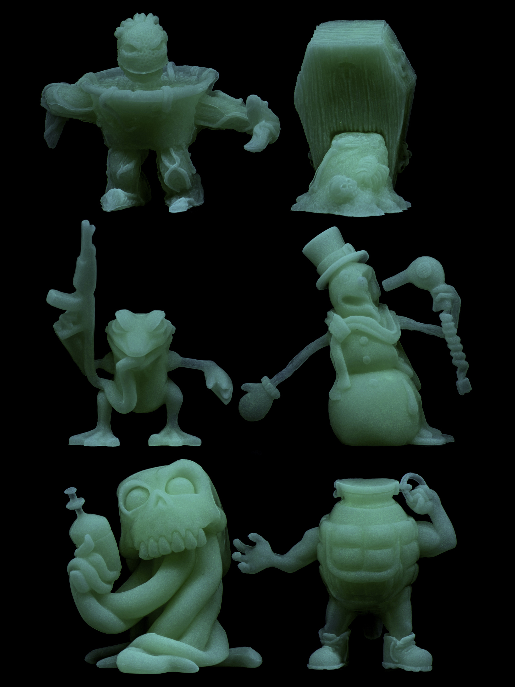 Run-A-Mucks Mini Figure Six-Packs
