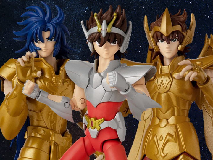 Knights of the Zodiac Anime Heroes