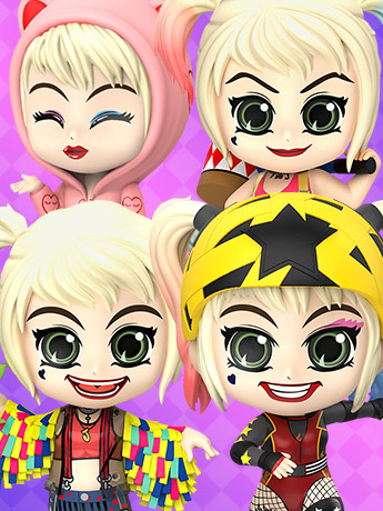 Birds of Prey Cosbaby Harley Quinn