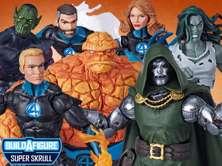 Fantastic Four Marvel Legends Wave 1 (Super Skrull BAF)