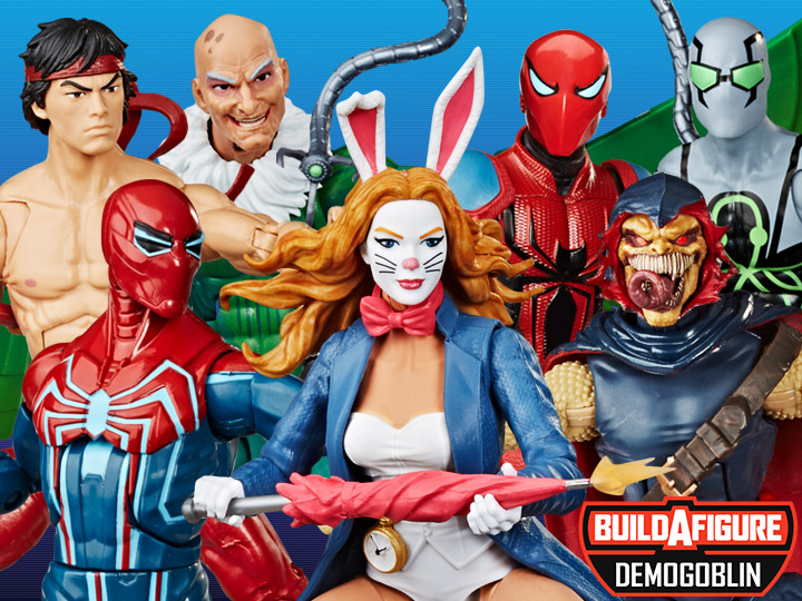 Spider-Man Marvel Legends Wave 11 (Demogoblin BAF)