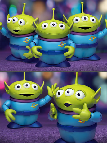 Toy Story Dynamic 8ction Heroes Aliens