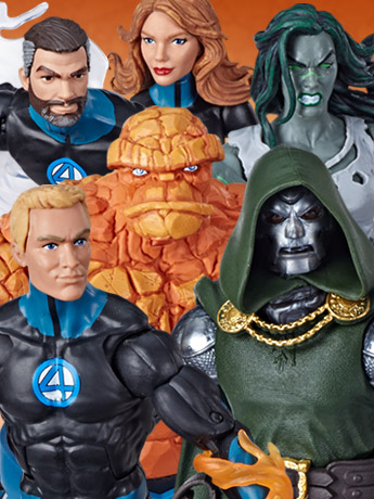 Fantastic Four Marvel Legends Wave 1 (Super Skrull BAF)