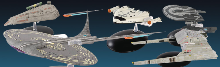 Eaglemoss: Star Trek Starships
