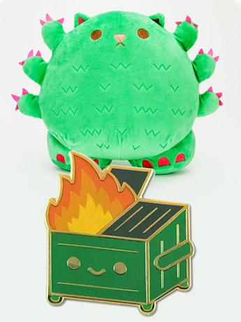 Kaiju Kitties & Lil Dumpster Fire