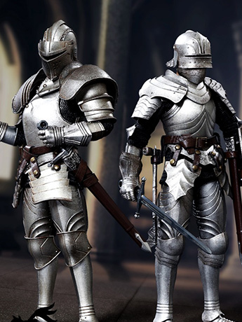 Palm Empires 1/12 Scale Knight Figures