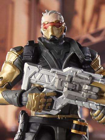 Overwatch Ultimates Soldier: 76 (Golden Skin)