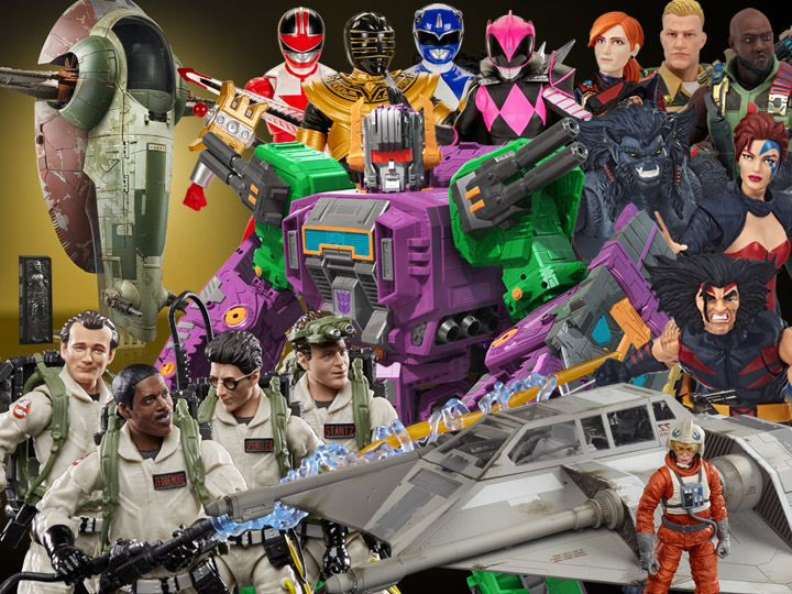 Hasbro Toy Fair: Transformers, Star Wars, GI Joe, Ghostbusters, Marvel Legends, Power Rangers