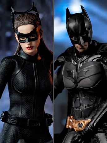 Batman & Catwoman 1/12 Scale Figures